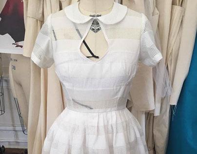 Draping Final: 50's/ 60's Summer Dress