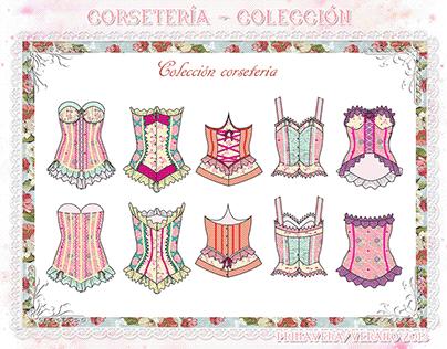 Lencería, corsetería y trajes de baño
