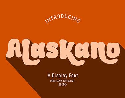 Alaskano Display Font