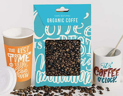 Lettering quotes for coffeeshop