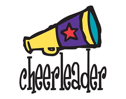 Cheerleader T-shirt Design