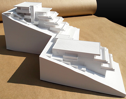 3D Print - Terrace building in Auenstein - Switzerland