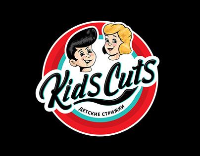KidsCuts - дизайн логотипа