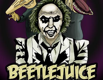 Beetlejuice - Cartel Publicitario