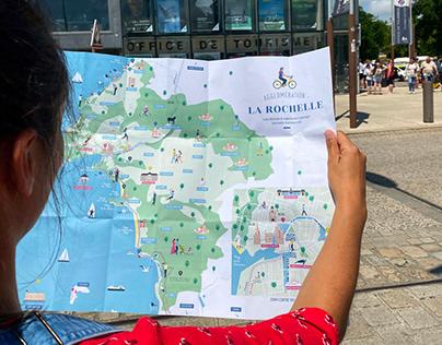 Carte Agglomération de la Rochelle