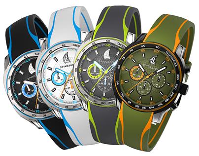 Spinnaker - Photorealistic watch visualization