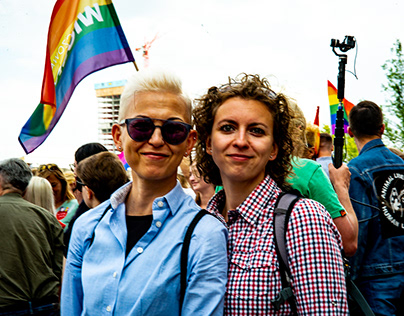 Anti-Hate demonstration Warsaw, July 2019