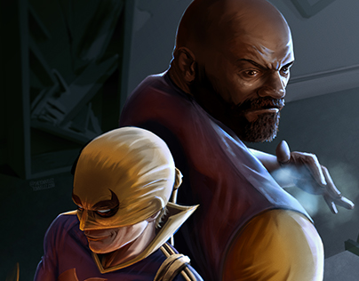 Iron Fist / Luke Cage : Heroes for Hire