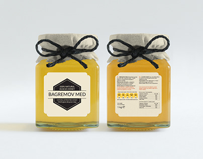 Yet another honey packaging design
