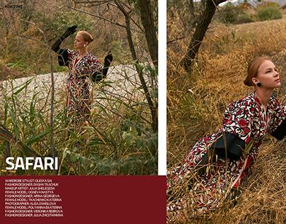 "Editorial ""SAFARI"" for HORIZONT Magazine"