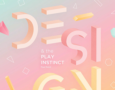 Design and the Play Instinct by Paul Rand