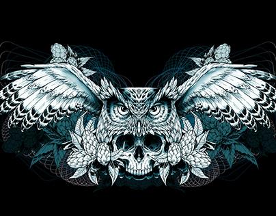 Coruja Superbock Artwork