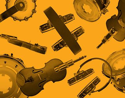 Identity for music festival