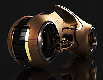 Tron Lightcycle - Gold edition