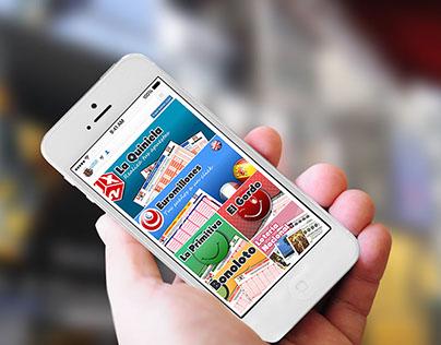 Versión móvil Web de Juegos del Estado