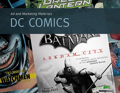 DC Comics' Ad and Marketing Materials (2014)