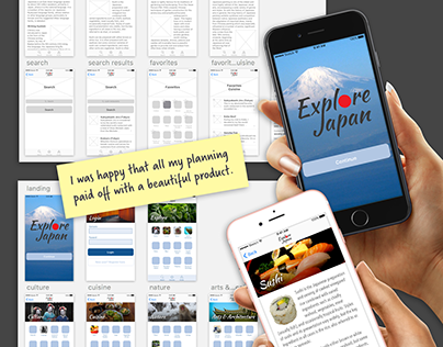 Student Project 4: Complete App (Explore Japan)