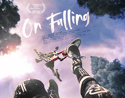 On Falling Short Film Festival Poster Design