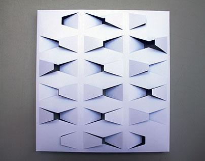 Cut & Bend: Letter X