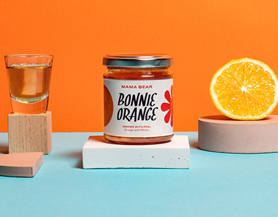 Mama Bear Marmalade Packaging
