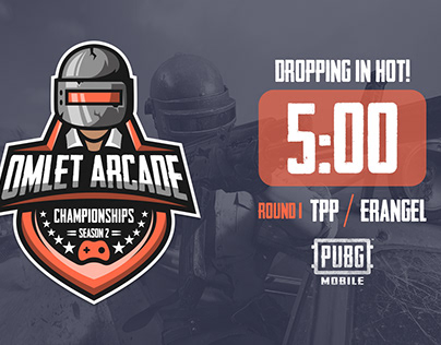 Omlet Arcade - Season 2 PUBGM Tournament Graphics