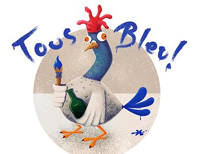 Tous Bleu!