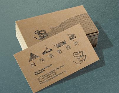 Business card   Shigeru Ban