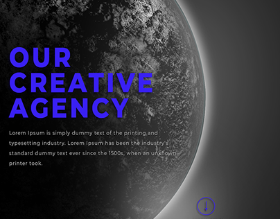 CREATIVE AGENCY WEBSITE PSD TEMPLATE - FREE TO DOWNLOAD