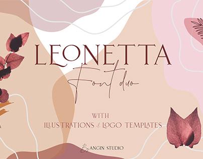 Leonetta Font Duo + Extras