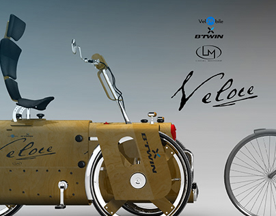 Veloce Velomobile - BTwin and Local Motors