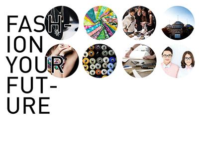 TFI Fashion Your Future program identity