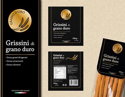 GRANO D'ORO Grissini di grano duro