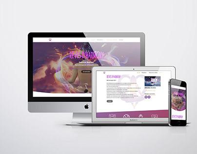 Site web & Carte de visite : Rêves d'Harmony