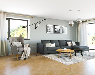 3D // interior design | Praha - Vinoř