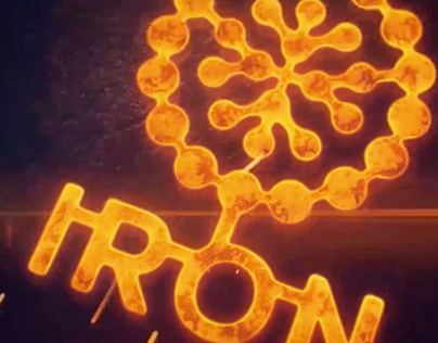 IRON motion graphics and 3D modeling showreel