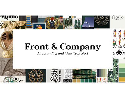 Front & Company: A rebranding and identity project