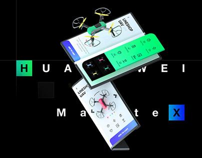 HUAWEI MateX Concept APP