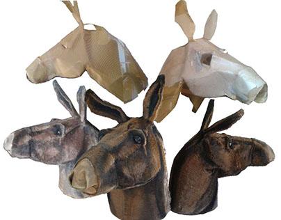 donkey's steps - prop