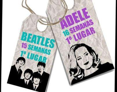 NÚMEROS - Beatles vs Adele