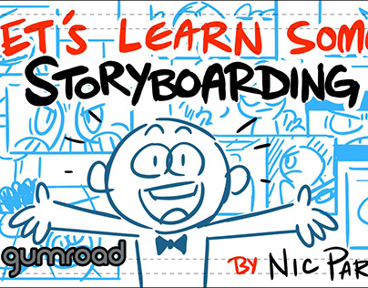 Let's Learn Some Storyboarding on Gumroad!