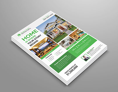 Real Estate FlyerTEMPLATE DESIGN