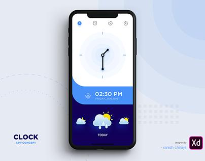 Clock - App Concept