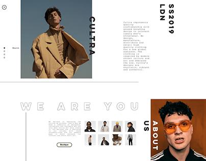 Street Fashion Brand - Web Design, Branding, Marketing