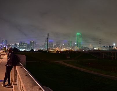 Dallas Panorama Selfie