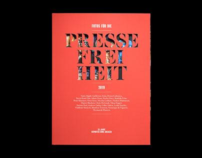 Fotos für die Pressefreiheit 2019