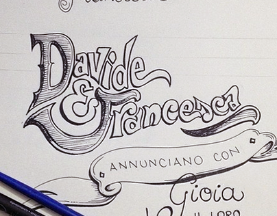 Wedding invitation / Davide & Francesca