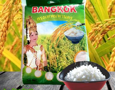 Gạo thơm thái Nhập Khẩu