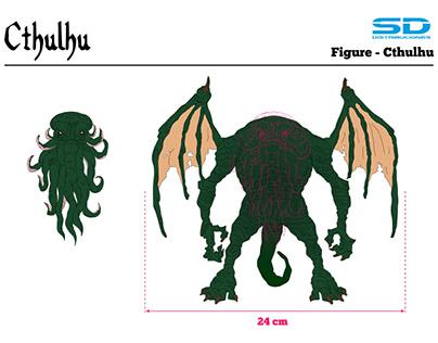 Cthulhu - 6'' figure
