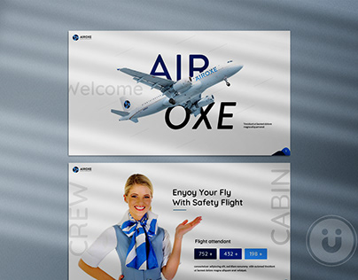 Airoxe Aviation Presentation Template