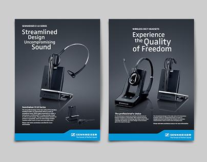Marketing & Advertising for Sennheiser